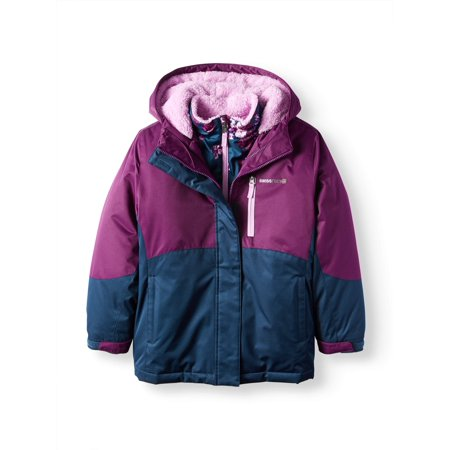 ccc4c8b56ed3 Swiss Tech - Swiss Tech Girls  4-in-1 System Jacket - Walmart.com