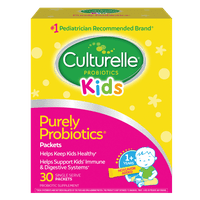 Culturelle Probiotics Kids Daily Probiotic Packets - 30 CT
