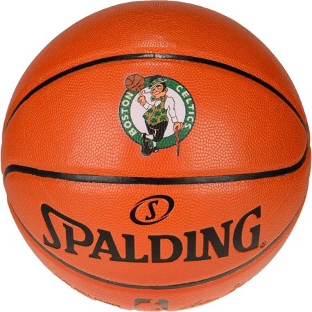 Boston College Eagles Authentic Basketball - Spalding Boston Celtics Official Size Logo Basketball