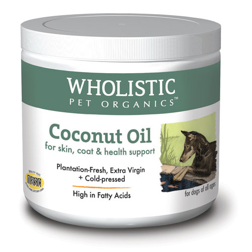 Wholistic Pet Coconut Oil 16oz