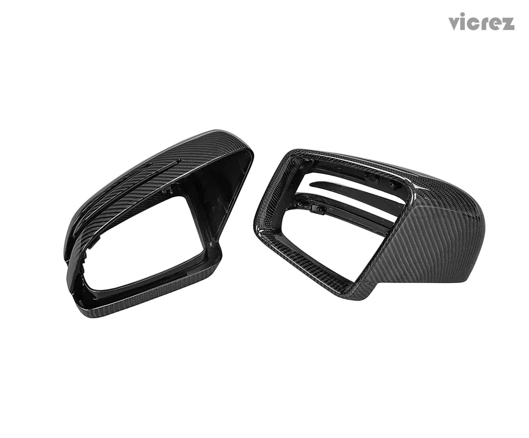 Carbon Fiber Mirror Covers fit for Mercedes Benz W463 G500 W166 ML350 GL350