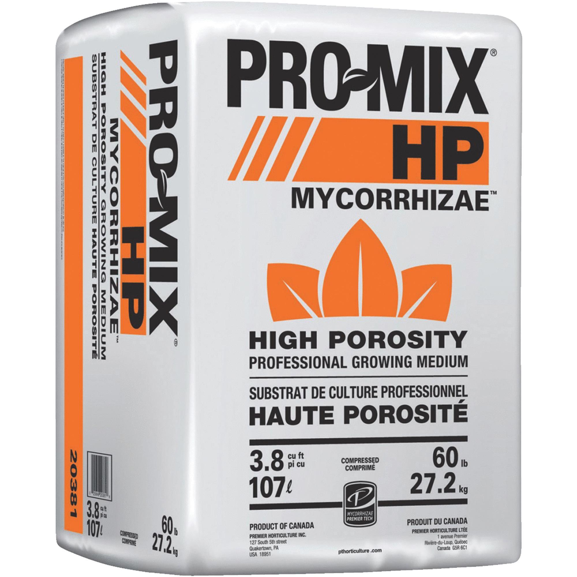 Premier PRO-MIX HP Mycorrhizae High Porosity Grower Mix, 3.8cu ft Compressed Bale