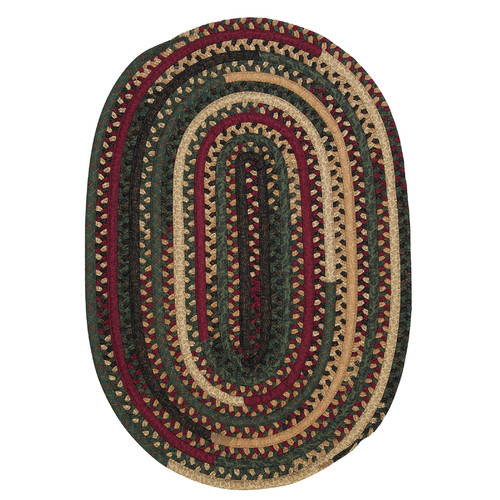 Colonial Mills Market Mix Oval Winter Area Rug