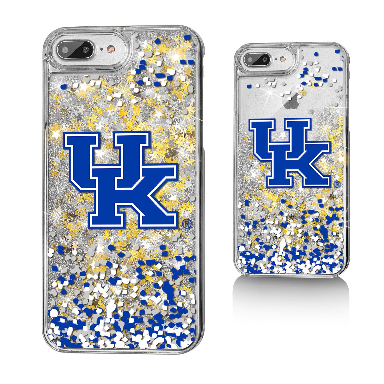 UK Kentucky Wildcats Confetti Glitter Case for iPhone 8 Plus / 7 Plus / 6 Plus