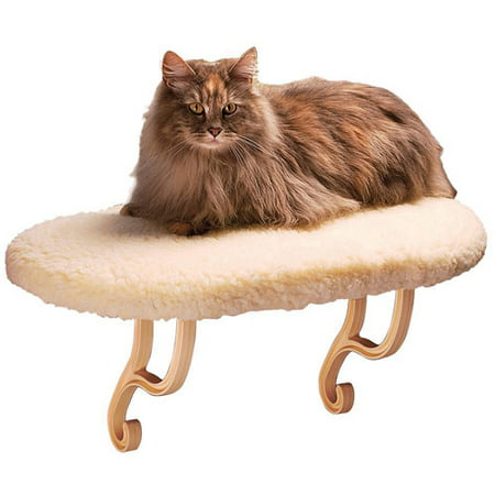 K Amp H Pet Products Kitty Still Cat Bed Off White Walmart Com