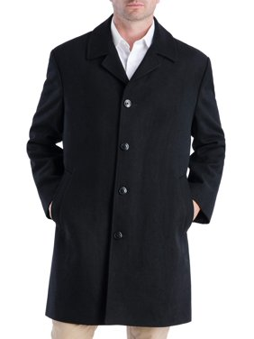 "FOG Men's 38"" Signature Single Button Top Coat"