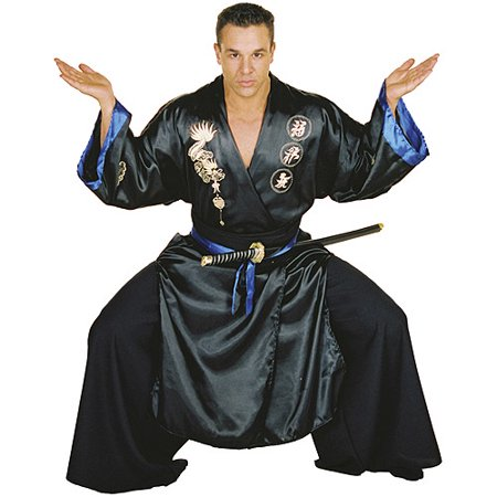 Black Samurai Adult Halloween Costume for $<!---->