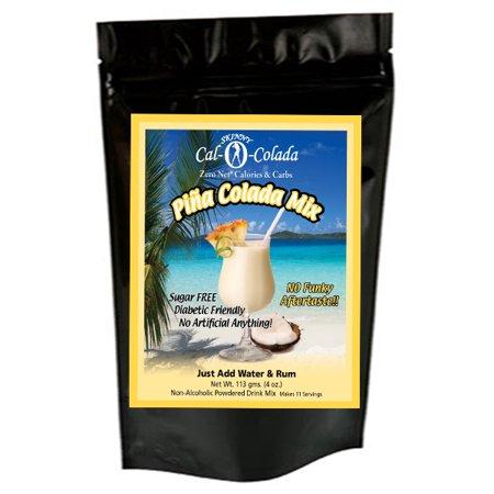 Skinny Cal-O-Colada (TM) Zero Calorie All Natural Pina Colada Cocktail Mix by