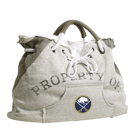 Littlearth NHL Hoodie Tote Grey/Buffalo Sabres