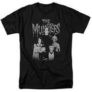 The Munsters Family Portrait Mens Short Sleeve Shirt