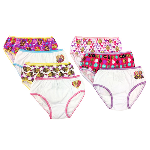 Girls' 7-Piece Panty