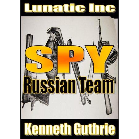 Russian Team (Spy Action Thriller Series #2) -