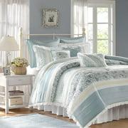 Home Essence Stella 9-Piece Cotton Percale Bedding Comforter Set