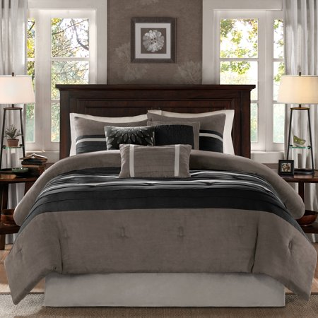 Home Essence Dakota 7-Piece Microsuede Comforter Set