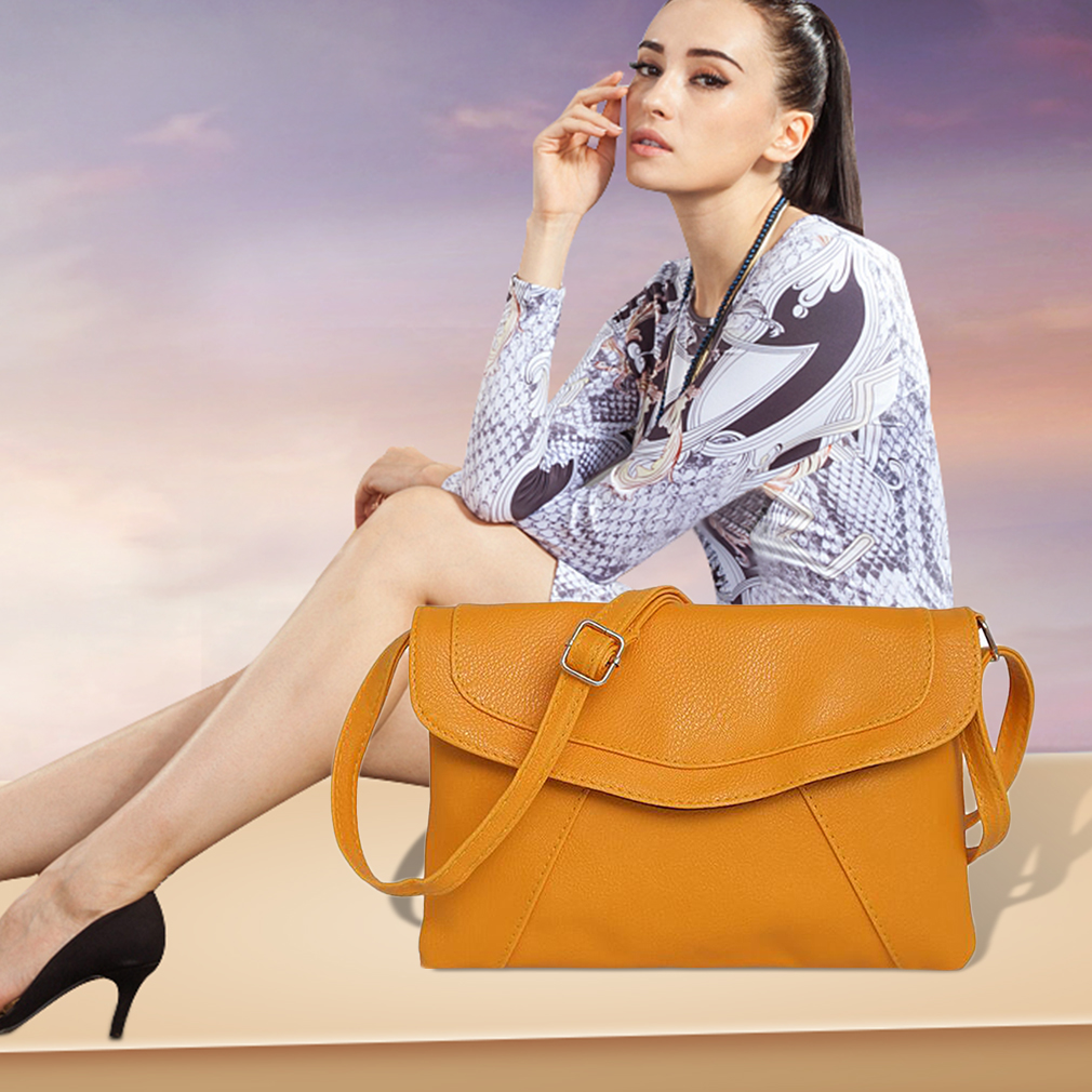 PU Leather Women Messenger Bag Small Diagonal All Match Single Shoulder Bag