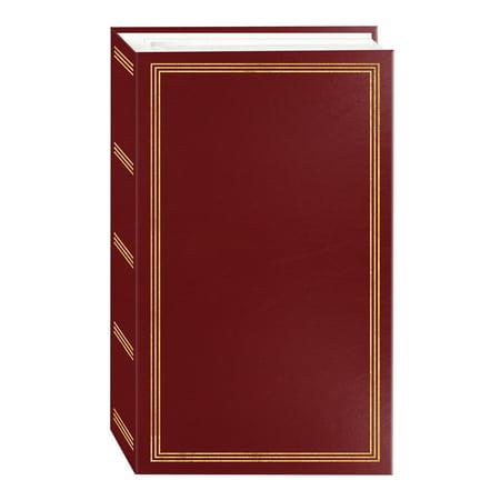 Pioneer Photo Albums 3-Ring 504 Pocket 4x6 Photo Album, Burgundy Red](Wedding Photo Albums 4x6)