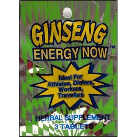 Energy Now - Energy Now PACK MINI Ginseng 3 TABLETTES