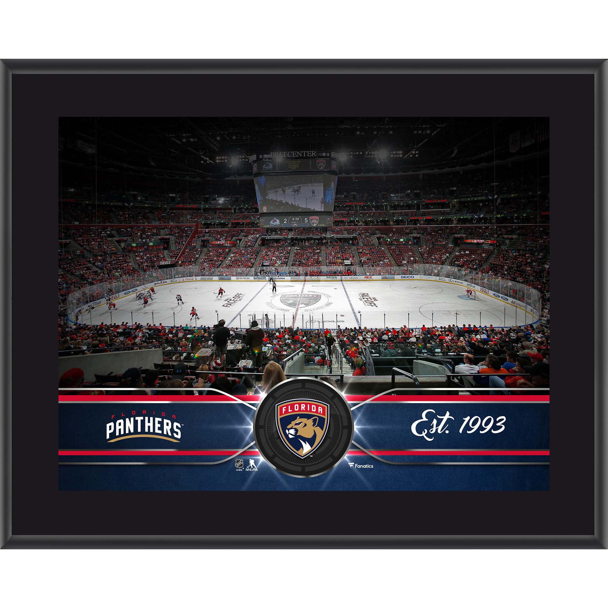 """Florida Panthers Fanatics Authentic 10.5"""" x 13"""" Sublimated Team Plaque - No Size"""