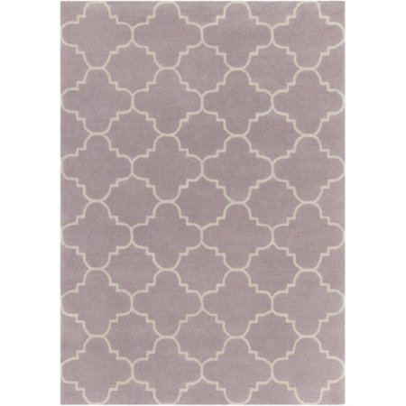 Chandra rugs davin patterned contemporary wool purple area for Purple area rugs contemporary