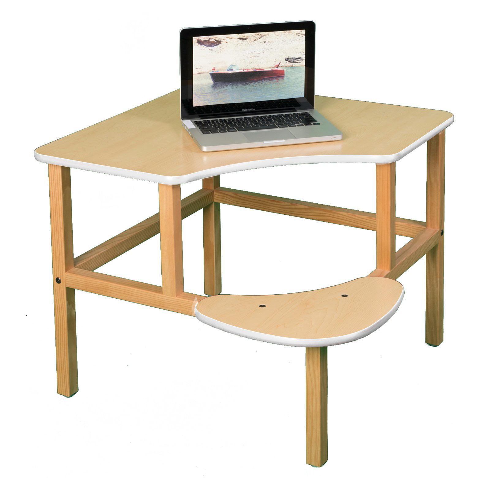 Wild Zoo Corner Desk - Maple