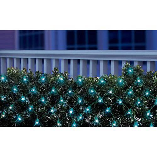Holiday Time LED Net Christmas Lights Blue, 150 Count