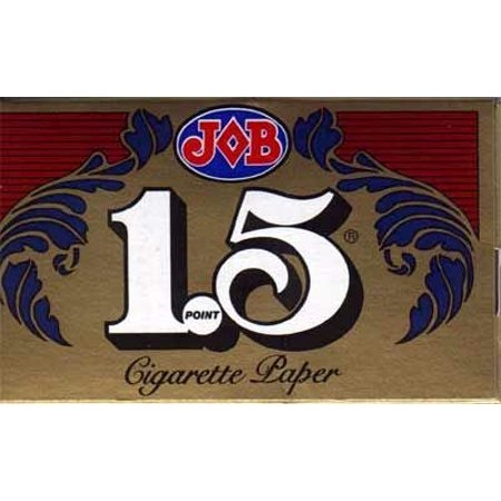 1.5 Cigarette Papers - 12 packs, Cigarette rolling paper By (Best Hemp Rolling Papers)