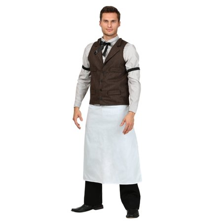 Plus Size Old West Bartender Costume