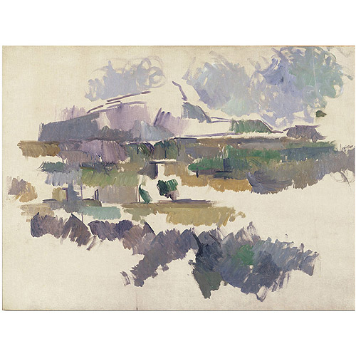 "Trademark Fine Art ""Montagne Sainte Victorie 1904"" Canvas Art by Paul Cezanne"