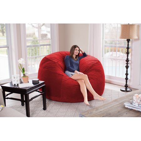 Chill Sack Giant 6 ft Bean Bag, Multiple (Best Giant Bean Bag)