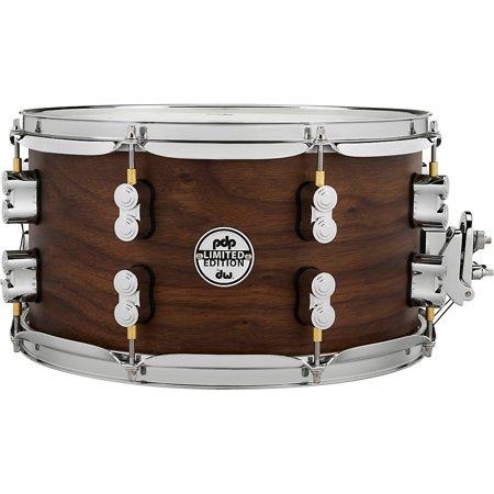 """PDP Limited Edition Maple / Walnut Shell 7""""x13"""" Snare Drum - Natural Satin Finish"""
