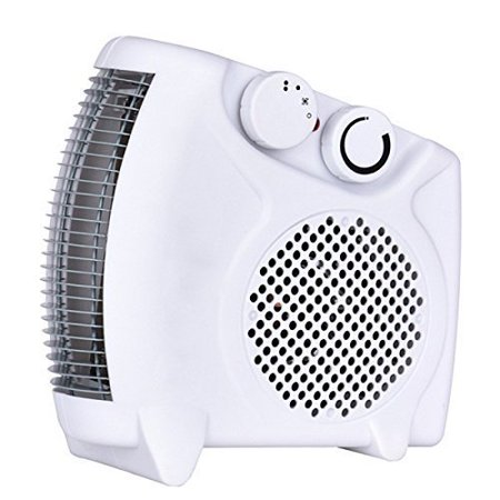 (e-Joy 1500W Portable heater Fan Heater space heater Desktop Heater with 2 Heat Settings, Cool Air Function & Adjustable Thermostat)