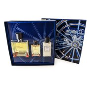Terre D' Hermes 3 Pc. Gift Set ( Perfume Spray 2.5 Oz + Perfume Spray 0.42 Oz + Aftershave Balm 1.35 Oz ) for Men