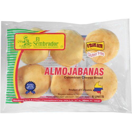 El Sembrador Almojabanas Colombian Cheese Bread, 6 count, 10.6 oz