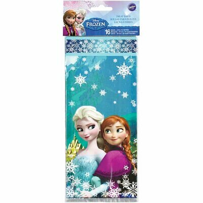 Candy Treat Bag Jack O-lantern - Frozen Anna, Elsa and Olaf Treat and Candy Bags - 16 Count - 1912-4500 - National Cake Supply