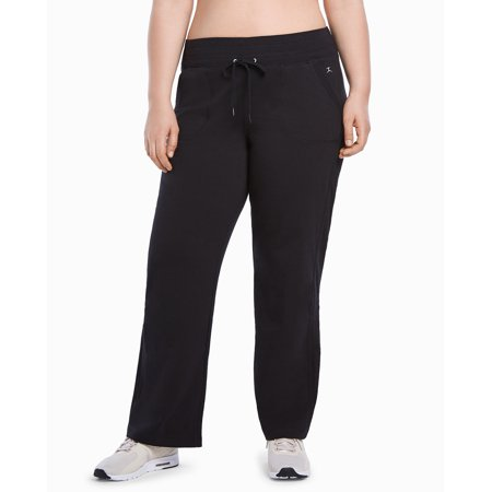 Danskin Women's Plus Size Active Relaxed Pant