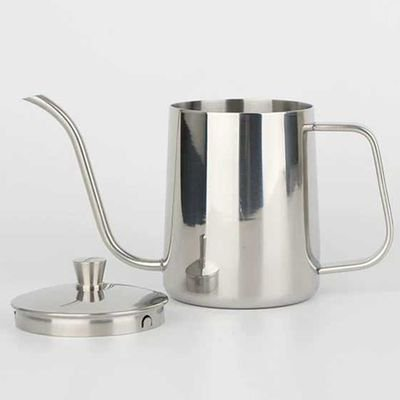 Halloween Punch Ice Hand (AkoaDa Stainless Steel Mounting Bracket Hand Punch Pot Coffee Pots With Lid Drip Gooseneck Spout Long Mouth Coffee Kettle Teapot-)