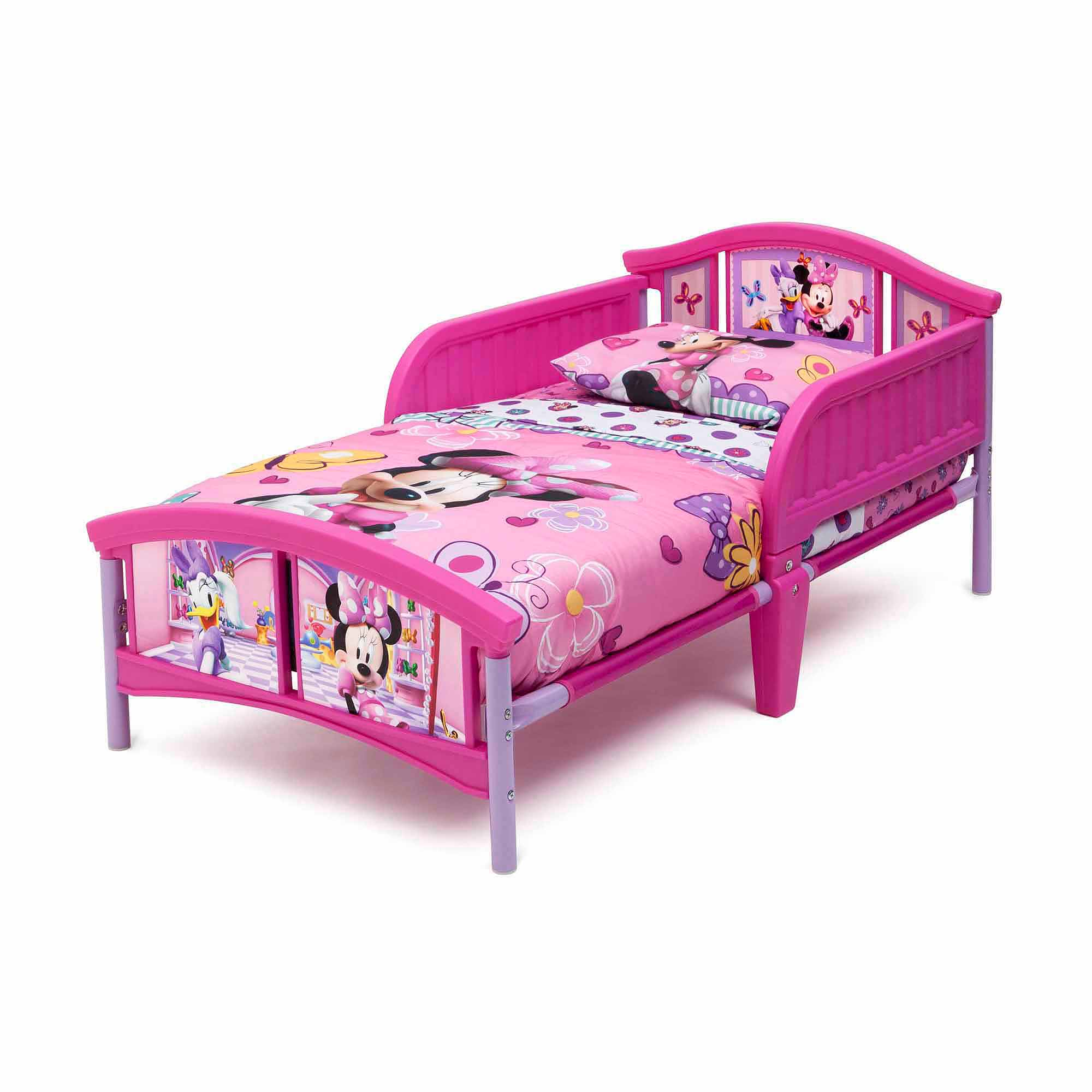 Disney Minnie Mouse Plastic Toddler Bed