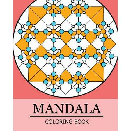 Mandala Coloring Book Stress Relieving Patterns Coloring Books For Adult Coloring Book For