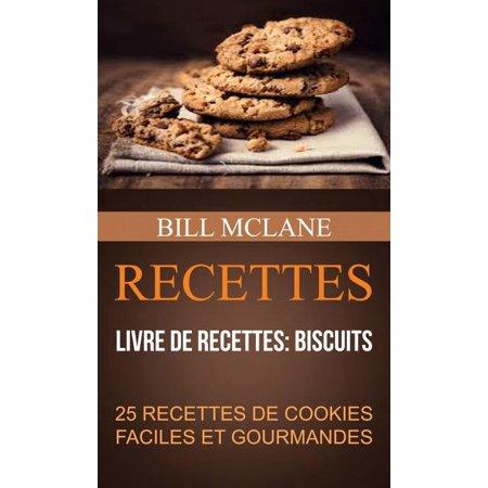 Recettes: 25 recettes de cookies faciles et gourmandes (Livre de recettes: biscuits) - eBook - Manualidades Faciles De Halloween