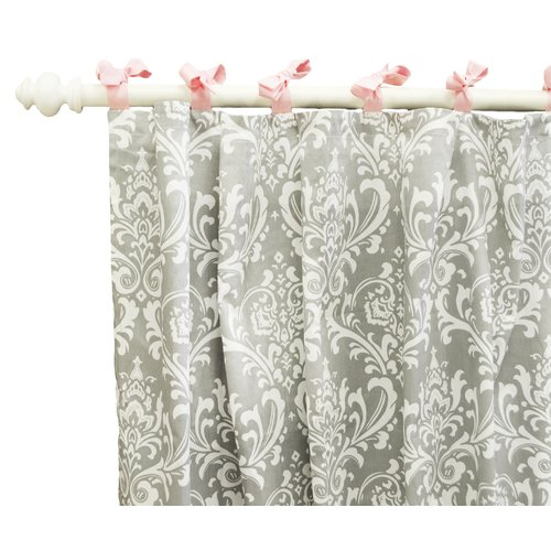 New Arrivals Stella Curtain Panels, Gray