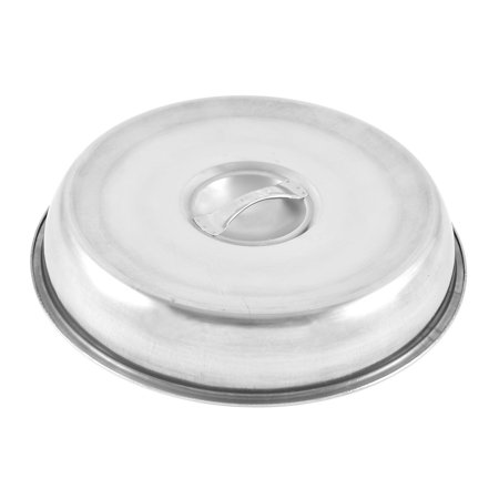 Restaurant Stainless Steel Round Shaped Beef Lid Silver Tone 24cm Diameter - image 2 of 2