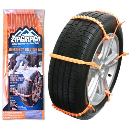 Zip Grip Go - Emergency Tire Traction Aid for Snow & Mud