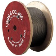 LOOS SF04777D-0300SP Cable, 3/64 In., 300 ft., 54 Lb Capacity