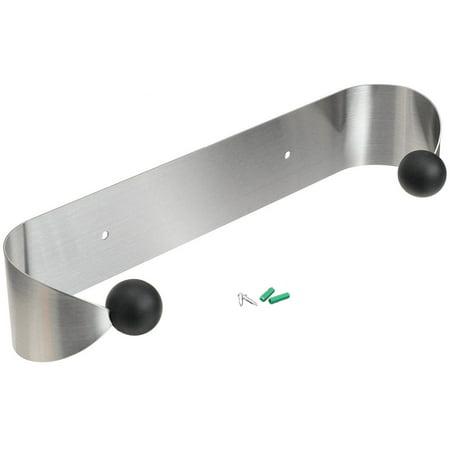 Paper Towel Holder Stainless Steel Under Cabinet Kitchen Bathroom Wall Mount - Stainless Steel Advantage Under Cabinet