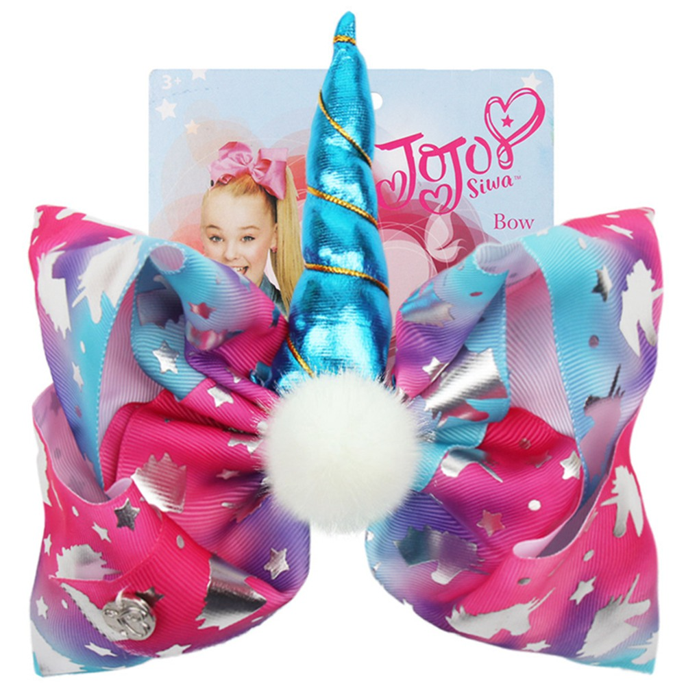 Set of 4 Princess Themed Hair Bows