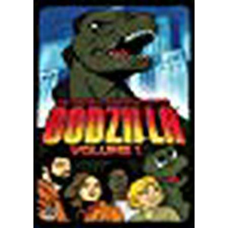 Godzilla Animated Vol 1 (Animated Halloween Tv Shows)