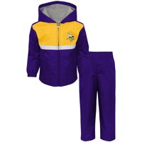Product Image Toddler Purple Gold Minnesota Vikings Full-Zip Jacket   Pants  Set 121feddbe