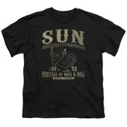 Sun Records Rockabilly Bird Big Boys Shirt