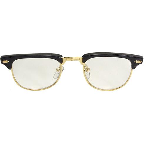 Mr. 50's Unisex Halloween 50s Glasses