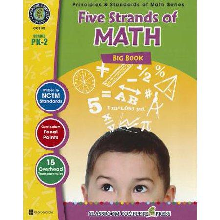 Five Strands of Math Big Book, Grades PK-2